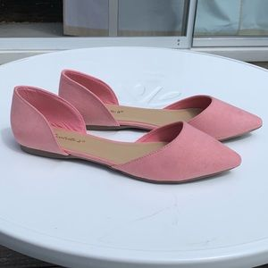 Breckelle's d'Orsay slip-on flat shoes, Size 8.5